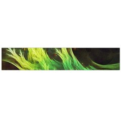 A Seaweed s Deepdream Of Faded Fractal Fall Colors Flano Scarf (large)