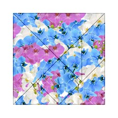 Tulips Flower Pattern Acrylic Tangram Puzzle (6  X 6 )