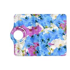 Tulips Flower Pattern Kindle Fire HD (2013) Flip 360 Case