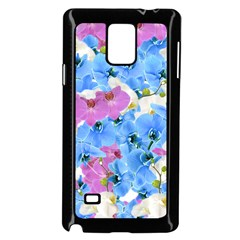 Tulips Flower Pattern Samsung Galaxy Note 4 Case (Black)