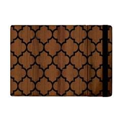 Tile1 Black Marble & Brown Wood (r) Apple Ipad Mini 2 Flip Case