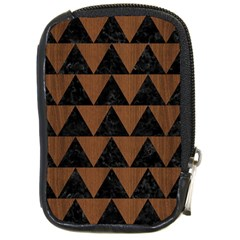 Tri2 Bk Mrbl Br Wood Compact Camera Cases