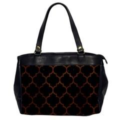 TIL1 BK-MRBL BR-WOOD Office Handbags