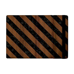 STR3 BK-MRBL BR-WOOD (R) Apple iPad Mini Flip Case
