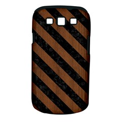 STR3 BK-MRBL BR-WOOD (R) Samsung Galaxy S III Classic Hardshell Case (PC+Silicone)
