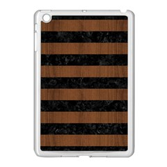 STR2 BK-MRBL BR-WOOD Apple iPad Mini Case (White)