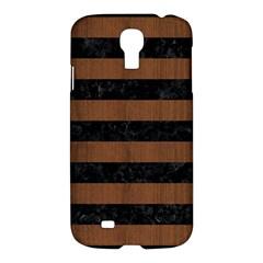 STR2 BK-MRBL BR-WOOD Samsung Galaxy S4 I9500/I9505 Hardshell Case