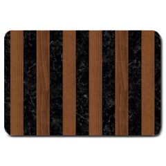 STR1 BK-MRBL BR-WOOD Large Doormat