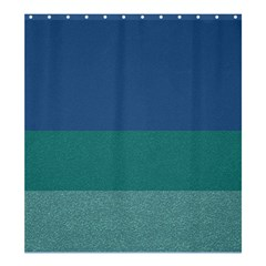 Blue Gradient Glitter Texture Pattern  Shower Curtain 66  X 72  (large)
