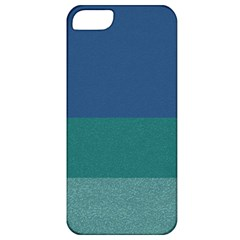 Blue Gradient Glitter Texture Pattern  Apple iPhone 5 Classic Hardshell Case