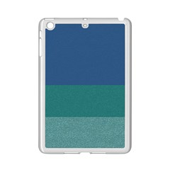 Blue Gradient Glitter Texture Pattern  iPad Mini 2 Enamel Coated Cases