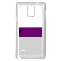 Demisexual Samsung Galaxy Note 4 Case (White)