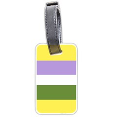 Deminonbinary Luggage Tags (One Side)
