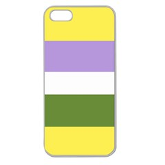 Deminonbinary Apple Seamless Iphone 5 Case (clear)