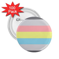Demiflux 2.25  Buttons (100 pack)