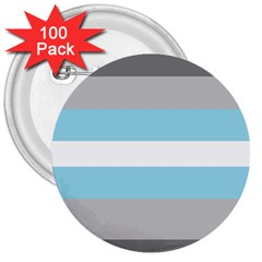 Demiboy 3  Buttons (100 Pack)