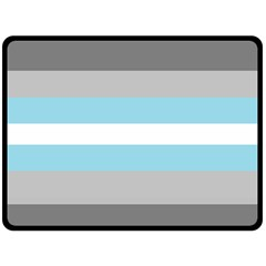 Demiboy Double Sided Fleece Blanket (Large)
