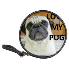 Pug Love W Picture Classic 20-CD Wallets