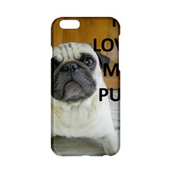 Pug Love W Picture Apple iPhone 6/6S Hardshell Case