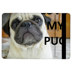 Pug Love W Picture iPad Air 2 Flip