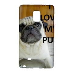 Pug Love W Picture Galaxy Note Edge