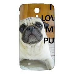 Pug Love W Picture Samsung Galaxy Mega I9200 Hardshell Back Case