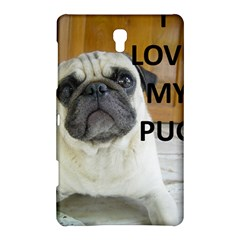 Pug Love W Picture Samsung Galaxy Tab S (8.4 ) Hardshell Case