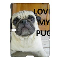 Pug Love W Picture Samsung Galaxy Tab S (10.5 ) Hardshell Case