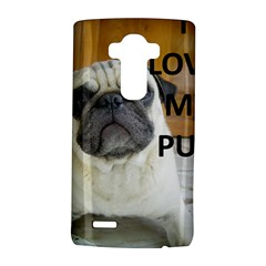 Pug Love W Picture LG G4 Hardshell Case