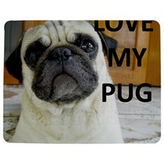 Pug Love W Picture Jigsaw Puzzle Photo Stand (Rectangular)