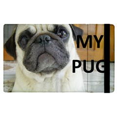 Pug Love W Picture Apple iPad Pro 9.7   Flip Case