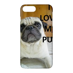 Pug Love W Picture Apple iPhone 7 Plus Hardshell Case