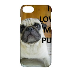 Pug Love W Picture Apple iPhone 7 Hardshell Case