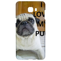 Pug Love W Picture Samsung C9 Pro Hardshell Case