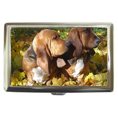 2 Bassets Cigarette Money Cases