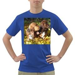 2 Bassets Dark T-Shirt