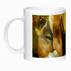 2 Bassets Night Luminous Mugs