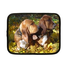 2 Bassets Netbook Case (Small)