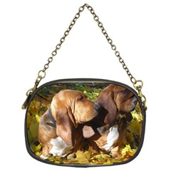 2 Bassets Chain Purses (Two Sides)