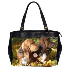 2 Bassets Office Handbags (2 Sides)