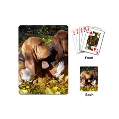 2 Bassets Playing Cards (Mini)