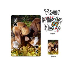2 Bassets Playing Cards 54 (Mini)