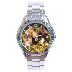 2 Bassets Stainless Steel Analogue Watch
