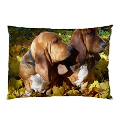 2 Bassets Pillow Case (Two Sides)