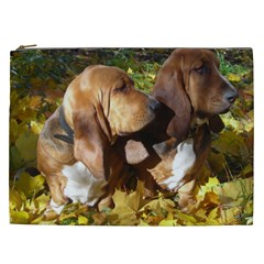 2 Bassets Cosmetic Bag (XXL)