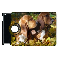 2 Bassets Apple iPad 3/4 Flip 360 Case