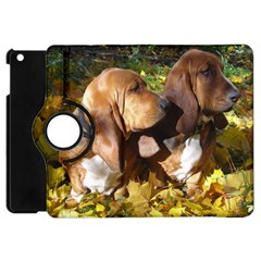 2 Bassets Apple iPad Mini Flip 360 Case
