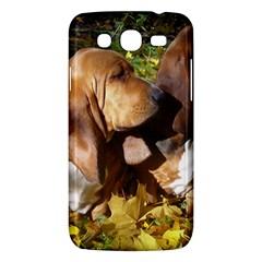 2 Bassets Samsung Galaxy Mega 5.8 I9152 Hardshell Case