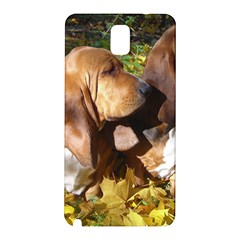 2 Bassets Samsung Galaxy Note 3 N9005 Hardshell Back Case