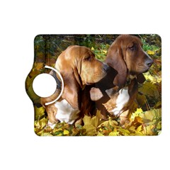 2 Bassets Kindle Fire HD (2013) Flip 360 Case
